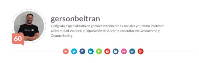 Los 10 geógrafos más influyentes de España en redes sociales gersonbeltran