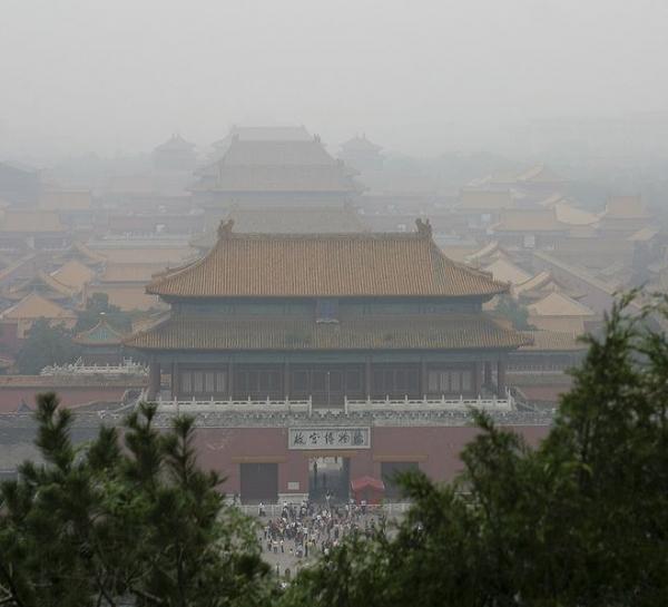 Brian Jeffery Beggerly - Smog over Beijing's Forbidden City