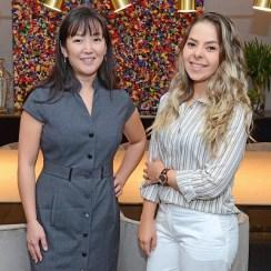 Larissa Markowicz e Débora Yumi Oh Copini