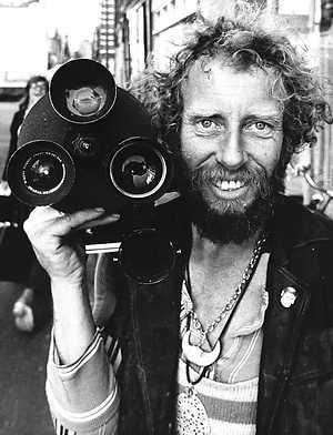 Ed van der Elsken met camera