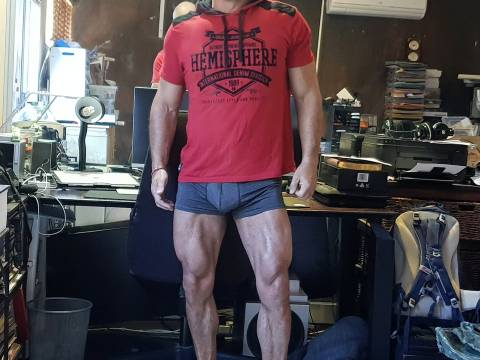 Leg training for guys with really bad knees 5