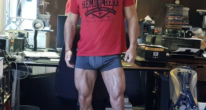 Leg training for guys with really bad knees 1