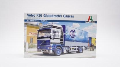 Italeri 3945 Volvo F16 Globetrotter Canvas With Elevator ( NIEUW ) VOLVO 3945
