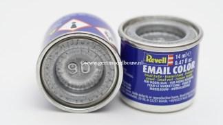 Revell 90 Zilver / Silver modelbouwverf en hobbyverf