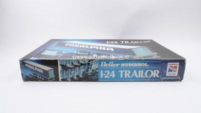 Heller Humbrol 80771 1:24 Trailor ( geopend, compleet, lees omschrijving! ) Heller bouwdozen schaal 1:24 3279510807714