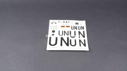 Revell 07507 UNIMOG U 1300L UN / OUTLET > lees omschrijving OUTLET 07507