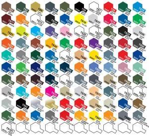 tamiya kleuren