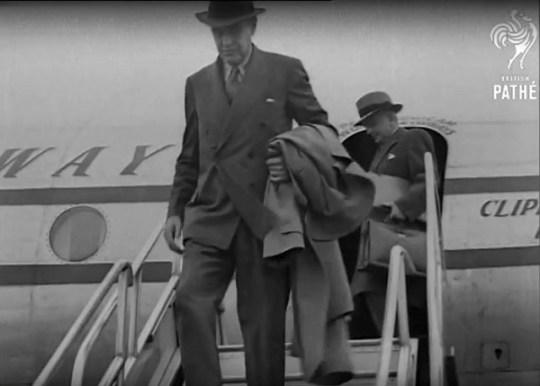 Averell Harriman in de documentaire Coup 53