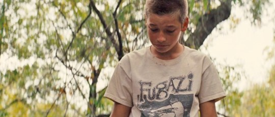 Het shirt van Fugazi in Mud