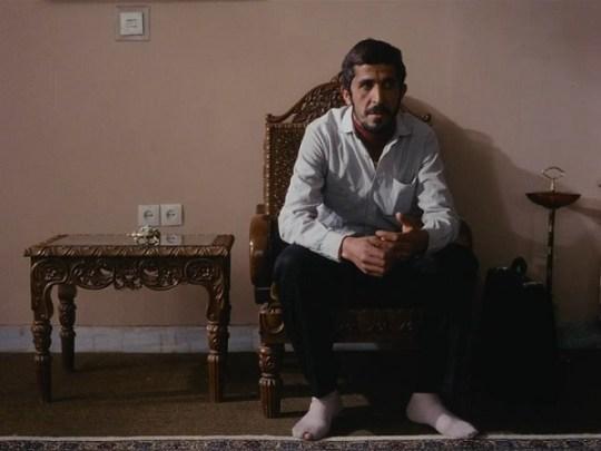 Close-up (Hossain Sabzian met een gat in zijn sok)
