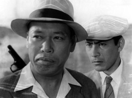 Takashi Shimura (links) met Toshiro Mifune in Stray Dog (1949)