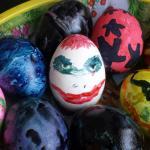 Joker Egg clown easteregg