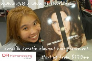 Ger'z Shares: DA Hairdressing (Kerasilk Keratin Blowout Hair Treatment Review) & Hair Roots Retouched (Prices Updated!)