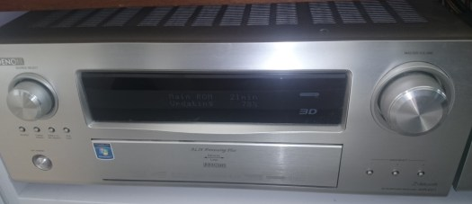 Bad UX with Denon Products - AVR Receiver