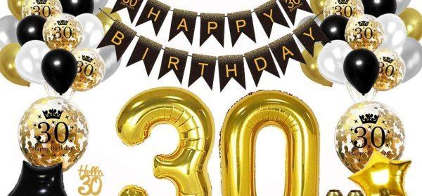 Geschenk zum 30. Geburtstag