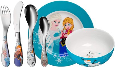 Ein hochwertiges Geschirrset für eure kleinen Frozen-Fans