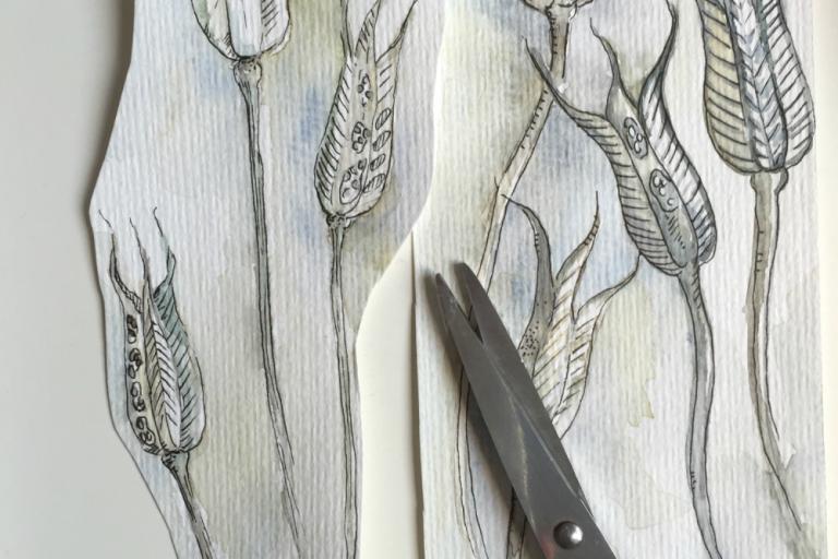 Read more about the article Hast Du auch Angst Dein Skizzenbuch zu versauen? – 5 Ansätze, die mir geholfen haben meine Furcht zu überwinden