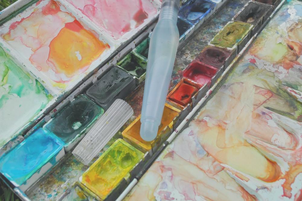 Minimalismus und Malen – Wie viele Farben sind genug?