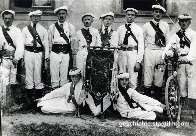 Radfahr-Reigenmannschaft 1919