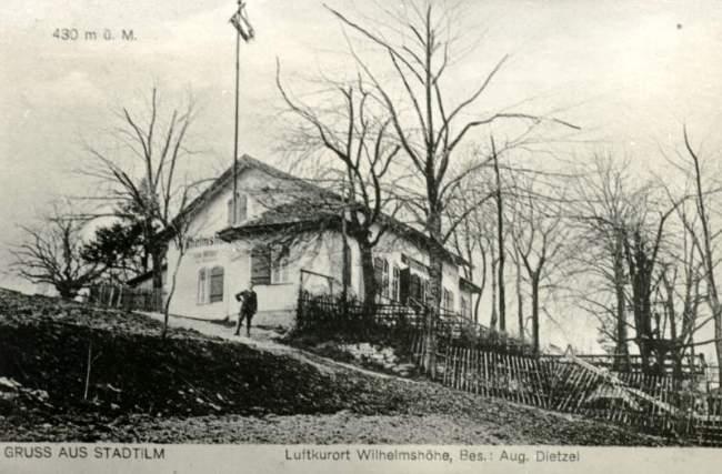Gasthaus Wilhelmshöhe um 1900