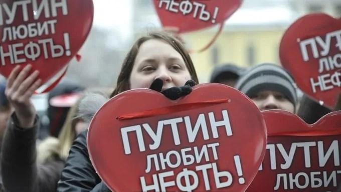 Putin liebt das Öl, Quelle: http://kungurov.livejournal.com/103854.html