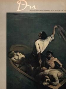 (Bildzitat) Titelcover der Zeitschrift Du vom März 1945 (Quelle: retro.seals)