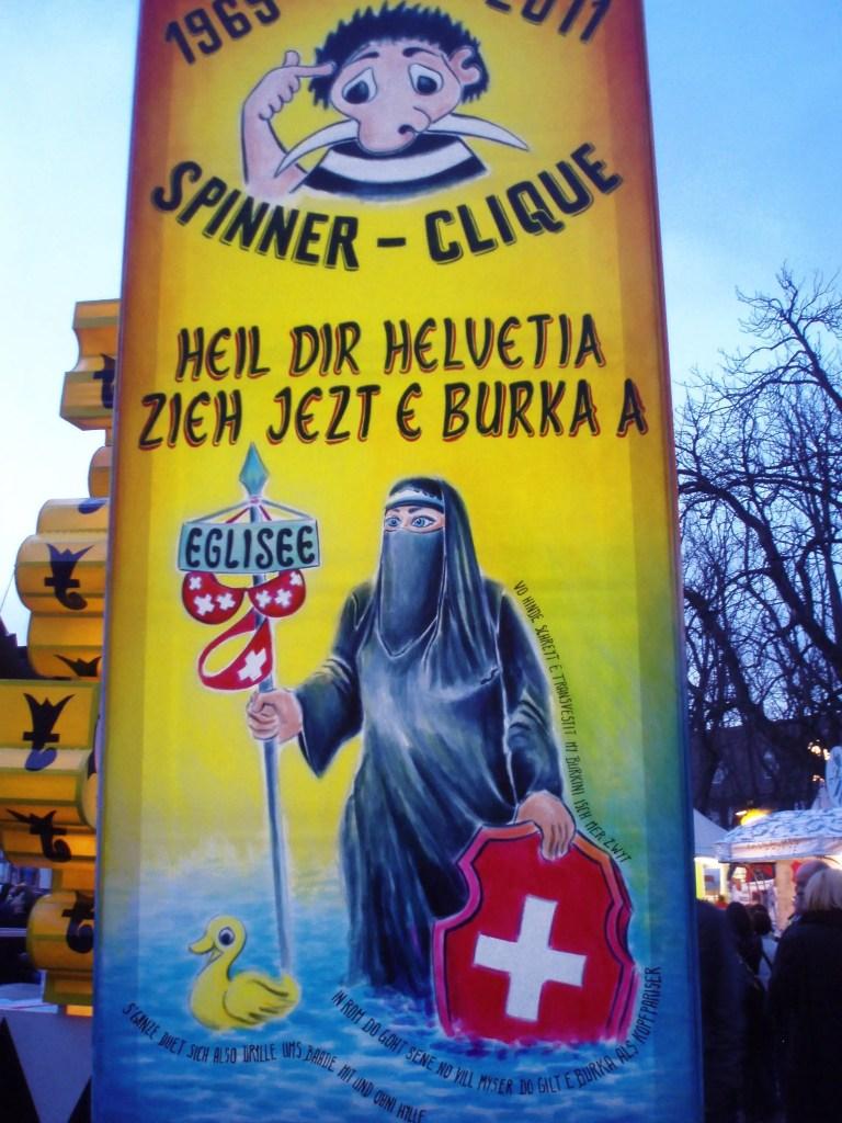 Basler Fasnacht 2011; Bild: Barbara Lüthi