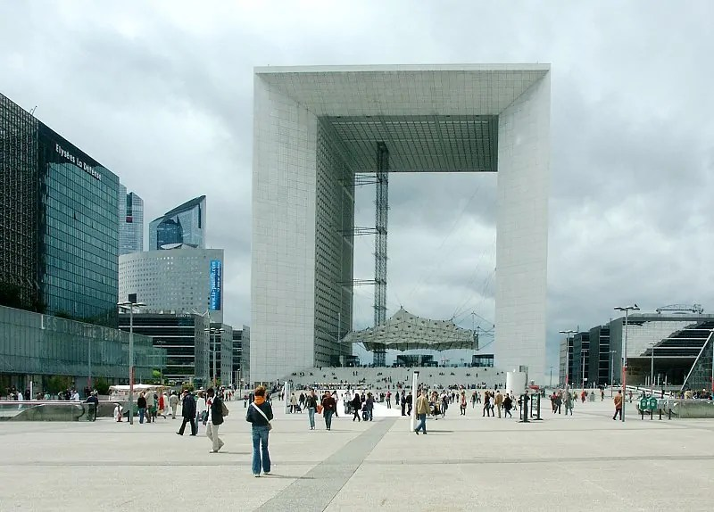 Grand Arche, Paris La Défense; Quelle: bluffton.edu