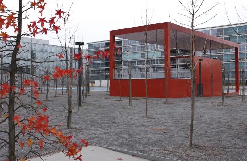Oerlikerpark, Zürich Nord; Quelle: haerlehubacher.ch