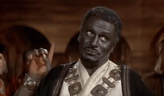 Laurence Olivier spielt Othello (1965); Quelle: silverscreeningroom.com