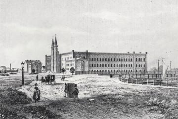 Bethanien, Stich aus dem Jahre 1855.