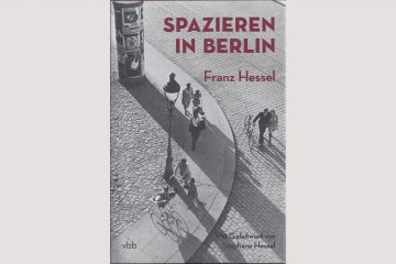 Cover Franz Hessel, Spazieren in Berlin