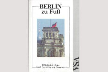 """Cover""""Berlin zu Fuß"""""""
