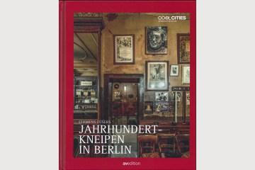 """Cover """"Jahrhundertkneipen in Berlin"""", erschienen 2019"""