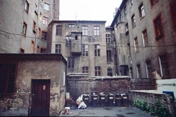 Hof in der Sorauer Straße im Südosten Kreuzbergs. Foto: Ulrich Horb