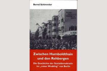 """Buchcover """"Zwischen Humboldthain und den Rehbergen"""""""