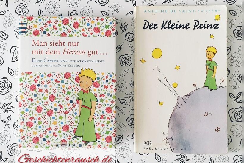 Der kleine Prinz & Zitate von Antoine des Saint-Exupéry.