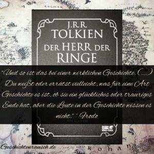Zitat - Herr der Ringe - Frodo
