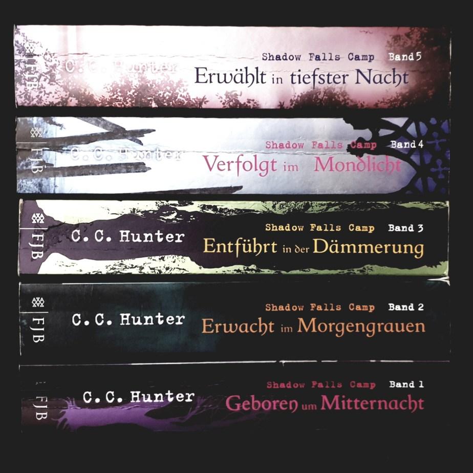 1) Geboren um Mitternacht; 2) Erwacht im Morgengrauen; 3)Entführt in der Dämmerung; 4) Verfolgt im Mondlicht; 5) Entführt in tiefster Nacht Book Cover