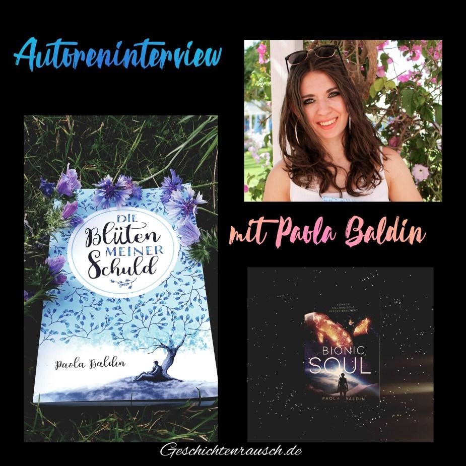 Autoreninterview Paola Baldin