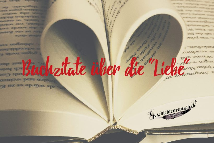 Buchzitate über die Liebe