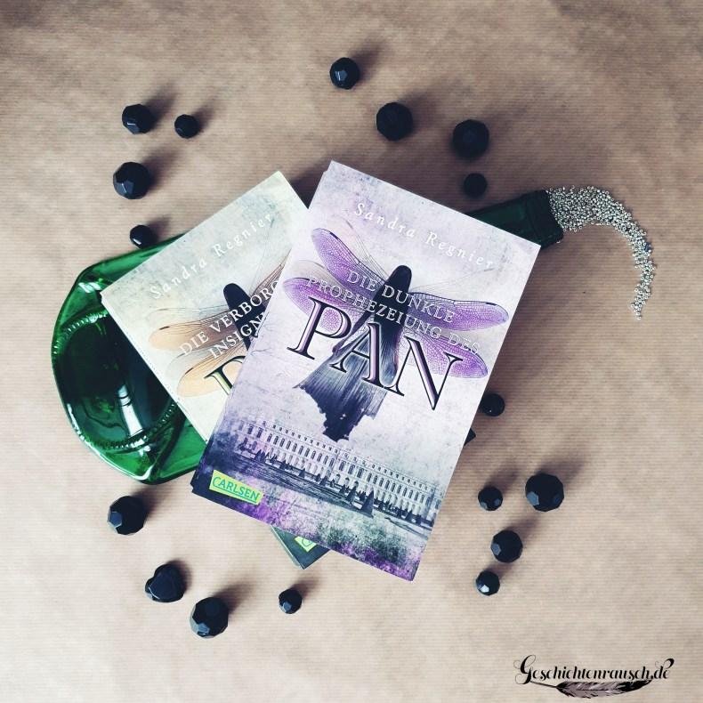 Cover - Pan Trilogie - Teil 2 und 3 von Sandra Regnier