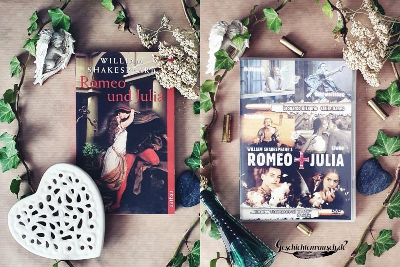 Buch vs. Film: Romeo und Julia