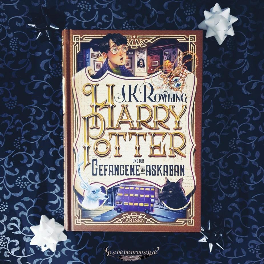 Cover von Harry Potter und der Gefangene von Askaban von J. K. Rowling