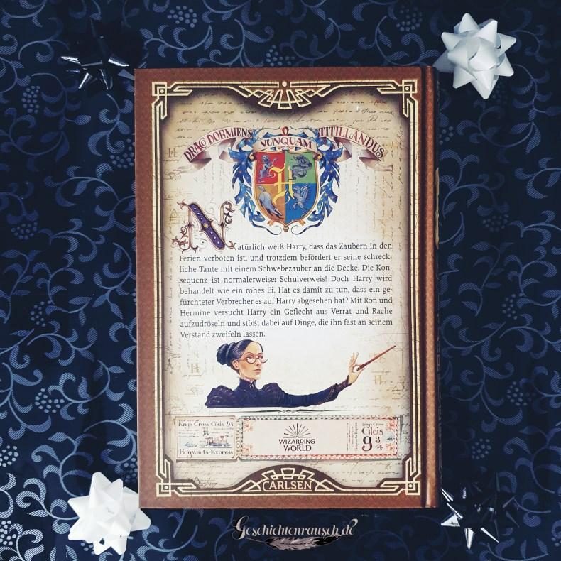 Klappentext von Harry Potter und der Gefangene von Askaban von J. K. Rowling