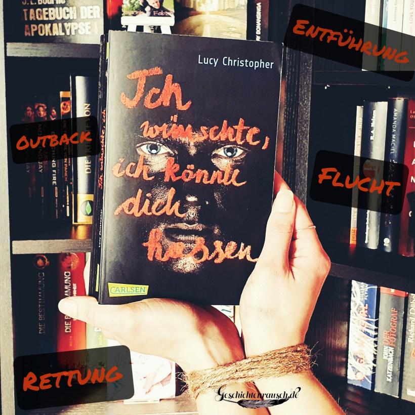 """Teaser zu """"Ich wünschte, ich könnte dich hassen"""" von Lucy Christopher"""