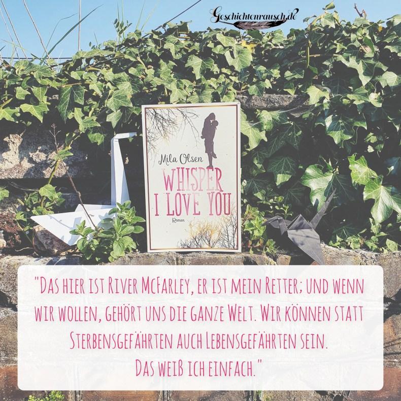 Zitat aus Whisper I Love You von Mila Olsen