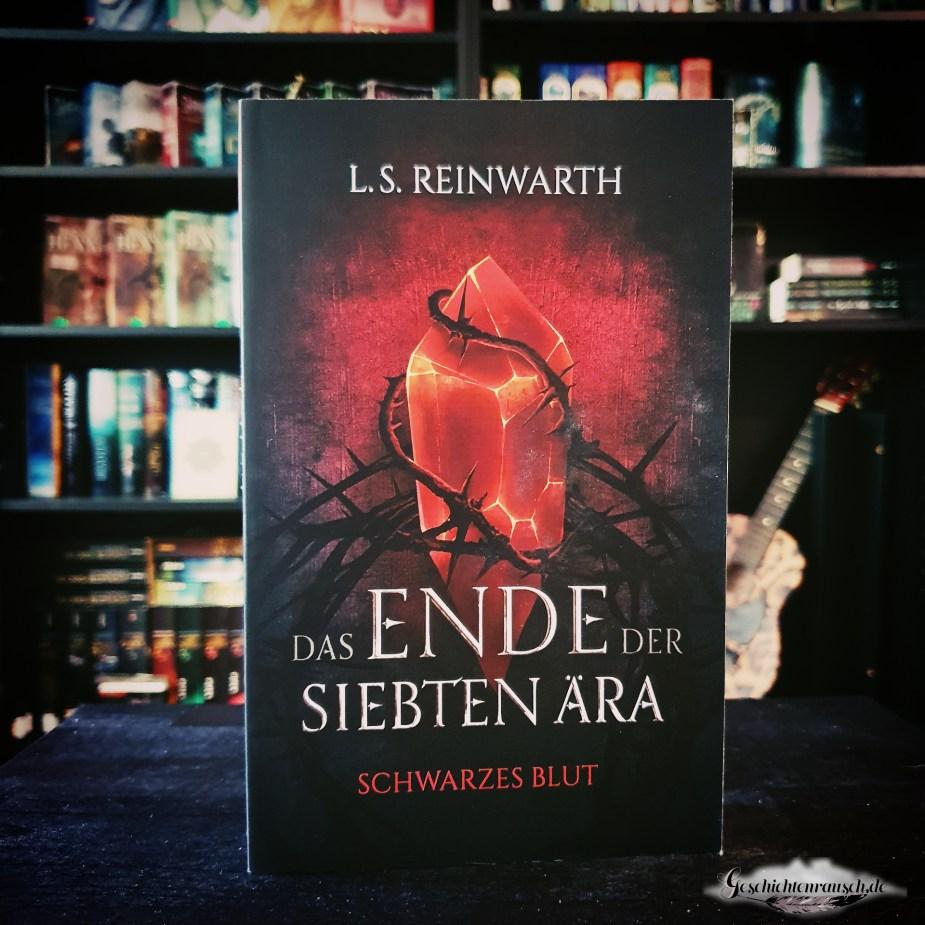 Cover von Das Ende der siebten Ära - Schwarzes Blut von L. S. Reinwarth