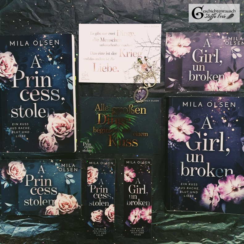 A Princess, stolen (1); A Girl, unbroken (2) Book Cover