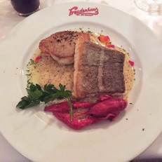 Pannfisch im Freudenhaus Restaurant Tipp Hamburg Geschmackskompass Food Blogger Blog